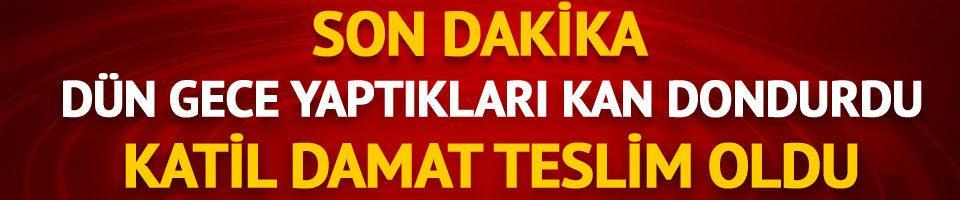 Aydın'da katliam yapan Mustafa Duran teslim oldu!