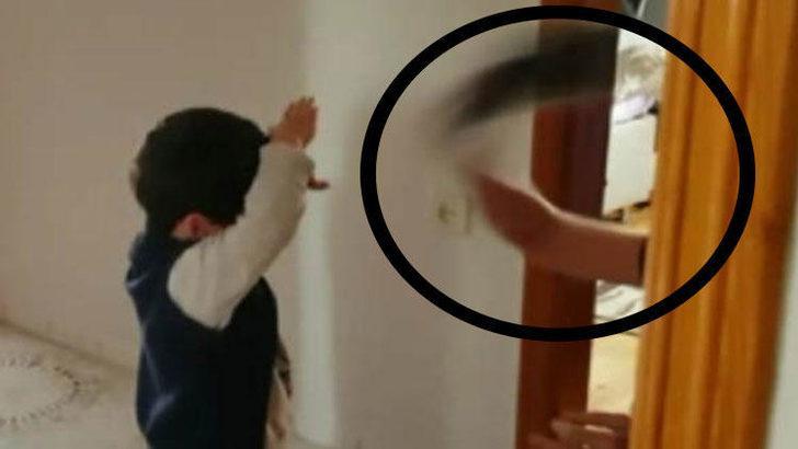 3 yaşındaki çocuğu döven bakıcı serbest kaldı!