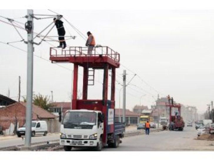 Tramvay Enerji Testleri Başlıyor