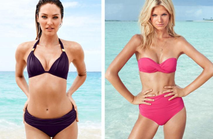 Vücut şekline göre bikini seçimi