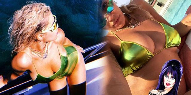 Rita Ora'dan seksi tatil pozları