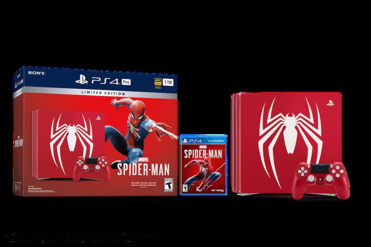 Spider-Man temalı PlayStation 4 Pro