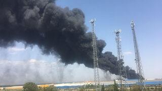 Antalya'da korku yaratan yangın