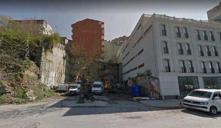Çöken binanın Mart ayında çekilen fotoğrafı