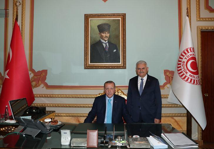 erdoğan yıldırım ziyaret tbmm başkanı ile ilgili görsel sonucu