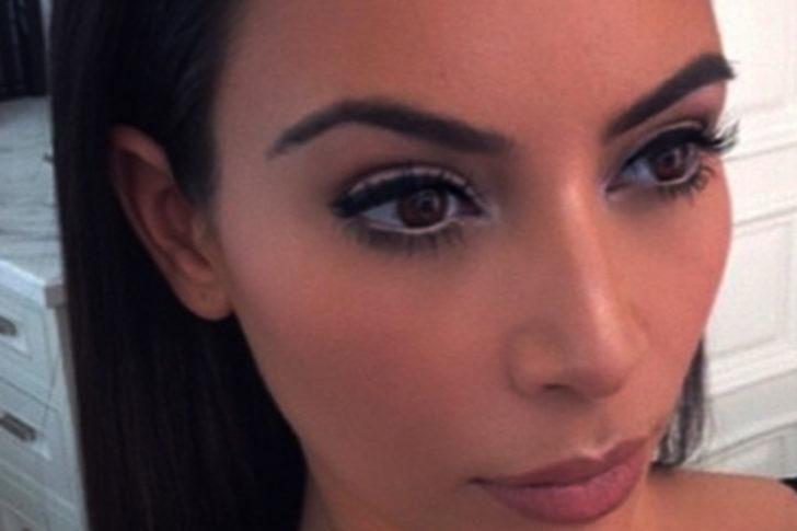 Kim Kardashian makyajının nasıl yapıldığını öğrenin