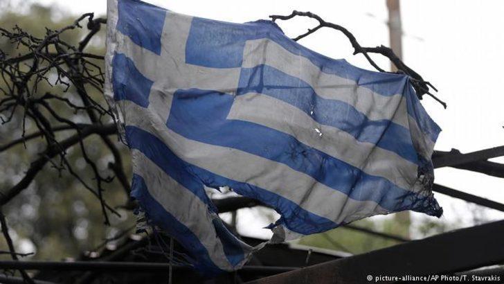 Yunanistan orman yangınlarında ölenler için yasta
