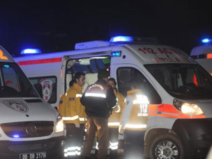 Askeri helikopter düştü: 5 subay şehit!