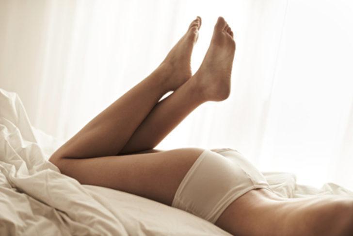 Kadınların bacaklarında sivilce