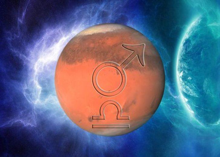 Mars, Terazi'de seyrine başlıyor