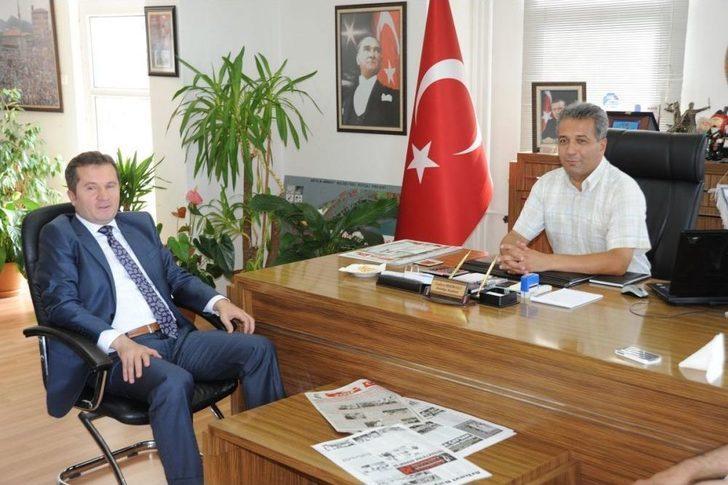Artvin İl Emniyet Müdürü Selçuk'tan Hekimoğlu'na Ziyaret