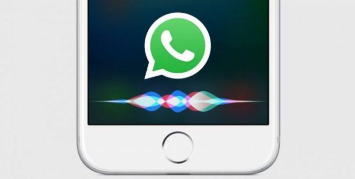 Siri ile WhatsApp mesajı gönderme dönemi başladı!