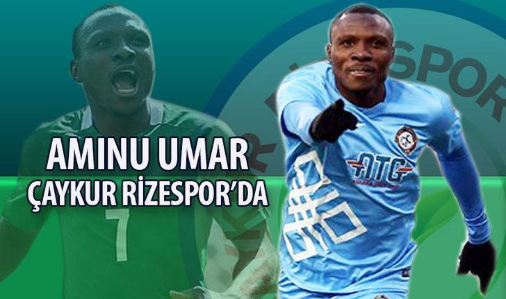 AMINU UMAR | Osmanlıspor > Çaykur Rizespor