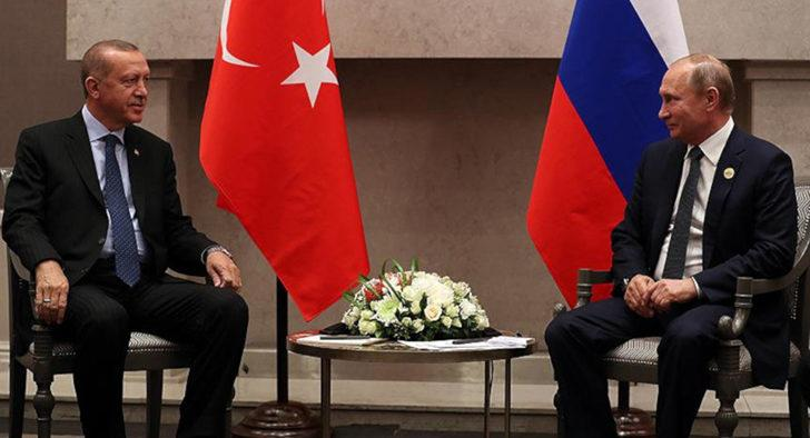 Erdoğan, Putin görüşmesinde dikkat çeken ayrıntı!