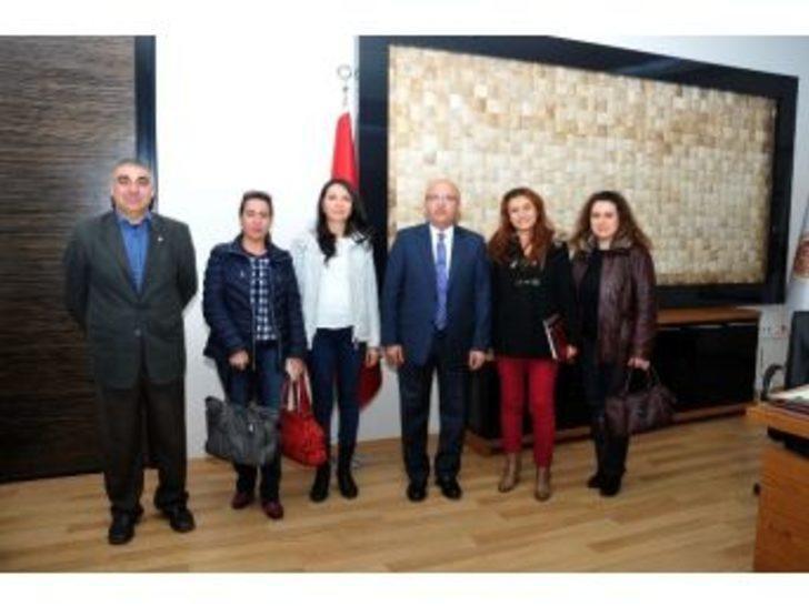 Anestezi Teknisyen Ve Teknikerleri Derneği Afyonkarahisar Şubesi'nden Başkan Çoban'a Ziyaret