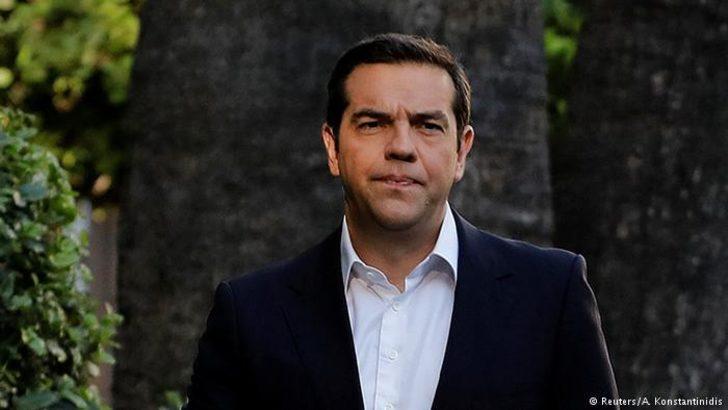 """Tsipras yangının """"siyasi sorumluluğunu"""" üstlendi"""