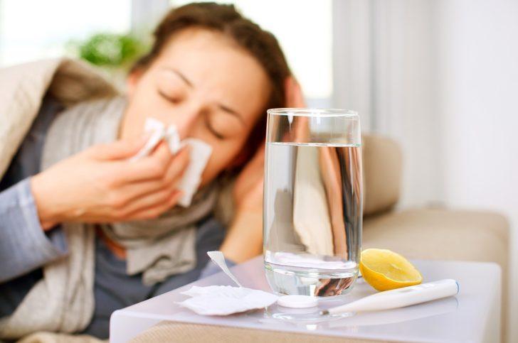 Gribin ilacı antibiyotik değil istirahat