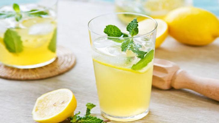 Limon suyu içmek için 10 sebep!
