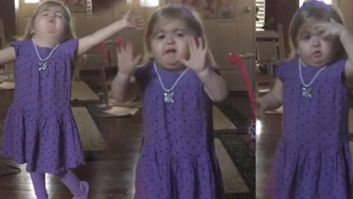Nadir görülen bir hastalıkla mücadele eden minik kız fenomen oldu
