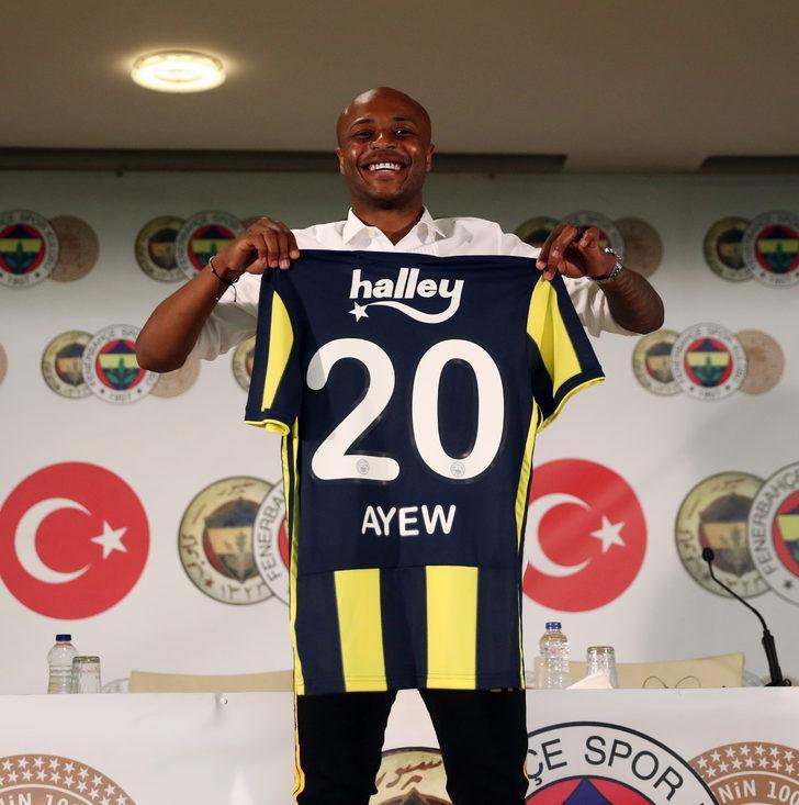 ANDRE AYEW | Swansea City > Fenerbahçe
