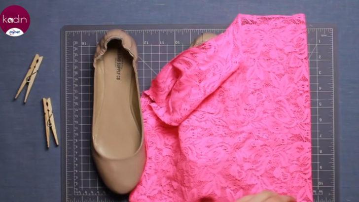Eski ayakkabınıza yeni bir görünüm kazandırın