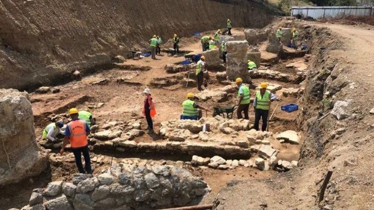 Haydarpaşa Garı'nda erken ve genç Bizans dönemine ait tarihi kalıntılar bulundu