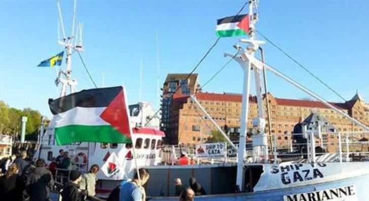 İsrail, Gazze'ye giden Özgürlük Filosu'nu durdurdu