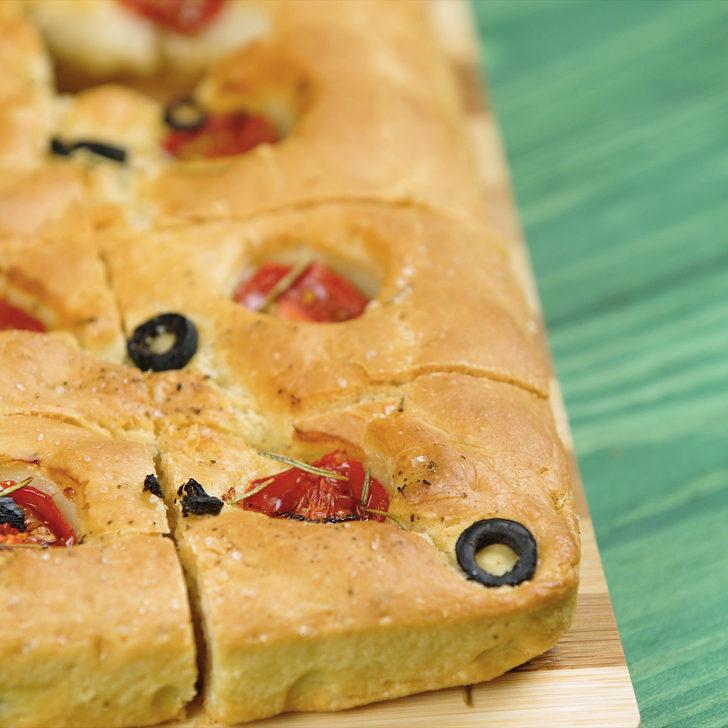 İtalyan Ekmeği: Focaccia