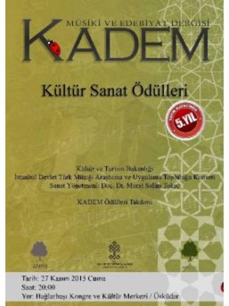 Kadem Kültür Sanat Ödülleri Sahiplerini Buluyor