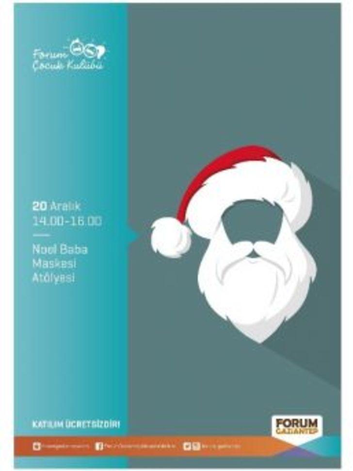 Forum Gaziantepte çocuklar Noel Baba Maskeleri Yapacak Gaziantep