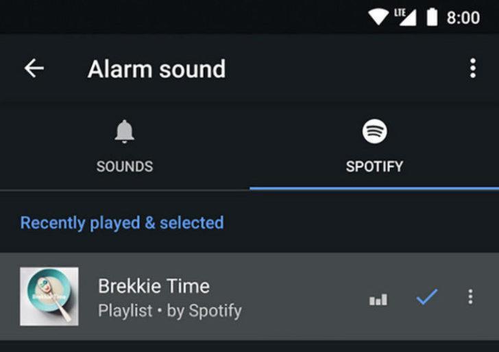 Google Clock'ta yepyeni bir özellik!