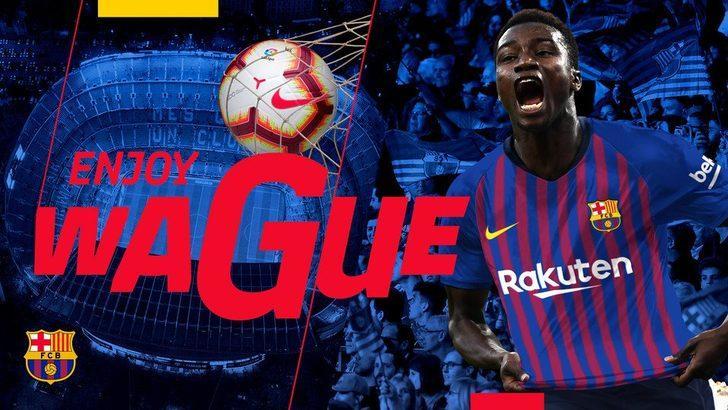 MOUSSA WAGUE | Eupen > Barcelona | BONSERVİS BEDELİ: 5 milyon Euro