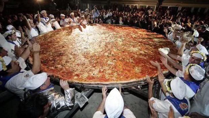 Yemek bizim işimiz! Guinness Rekorlar Kitabı'na adımızı yazdırmayı başarmış 7 yemek rekoru