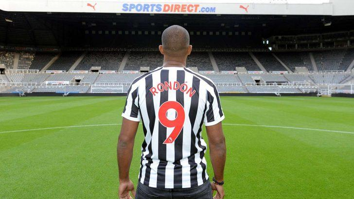 JOSE SALOMON RONDON | West Bromwich > Newcastle United (Kiralık)