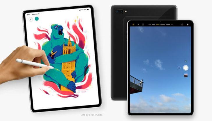 iPad 2018 modelleri farklı bir tasarımla gelecek