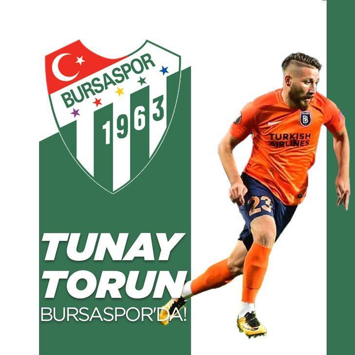 TUNAY TORUN | Başakşehir > Bursaspor (Kiralık)