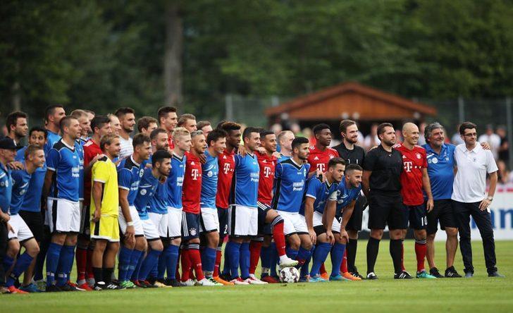 Bayern Münih, Rottach-Egern'e acımadı: 20-2