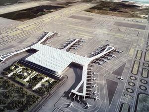 Yeni havalimanında 3 uçaklık deneme