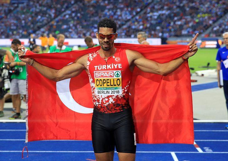 Yasmani Copello Escobar Avrupa Atletizm Şampiyonası'nda gümüş madalya kazandı!
