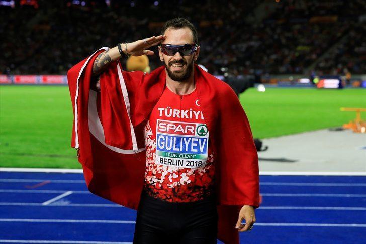 Avrupa Atletizm Şampiyonası'nda Ramil Guliyev altın madalya kazandı!