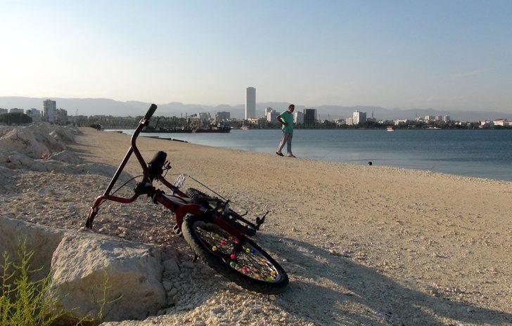 Denizde boğulan Kalender'den geriye sadece bisikleti kaldı