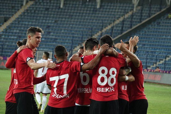 Gençlerbirliği 1 - 0 Hatayspor (Spor Toto 1. Lig maç özeti)