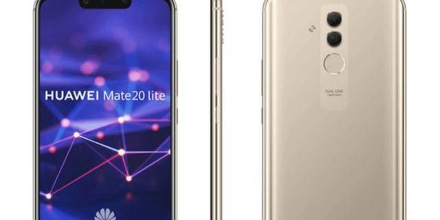 Huawei Mate 20 Lite sızdırıldı