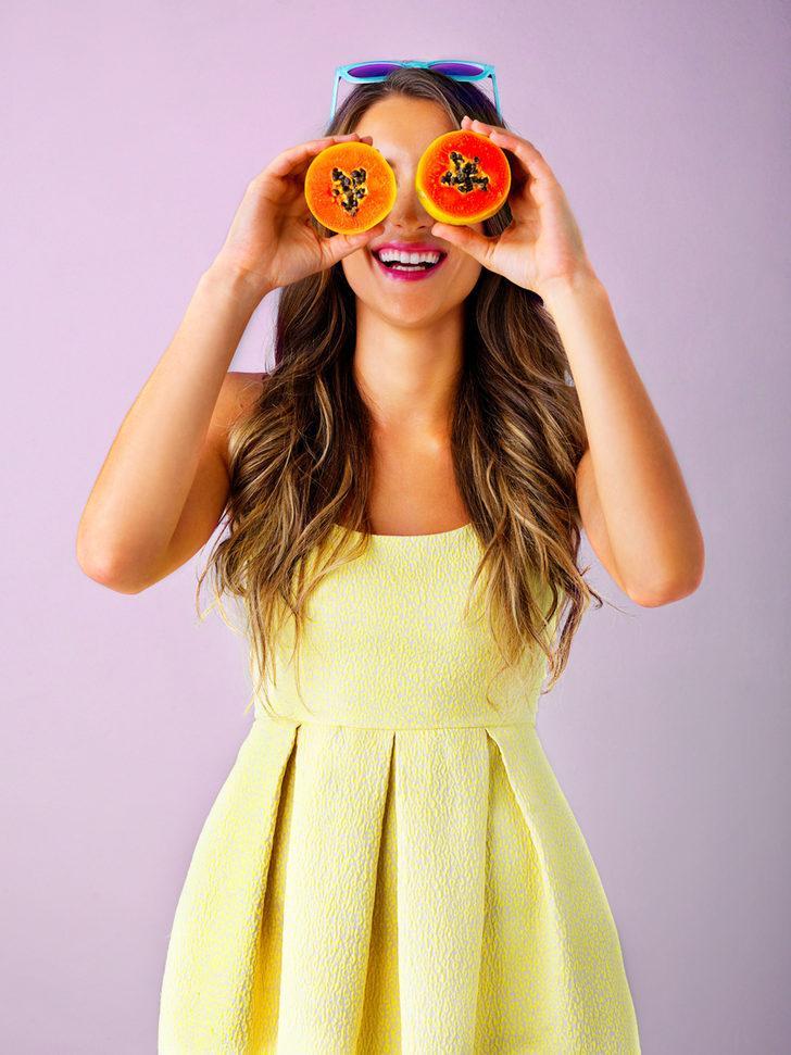 Papaya + zerdeçal