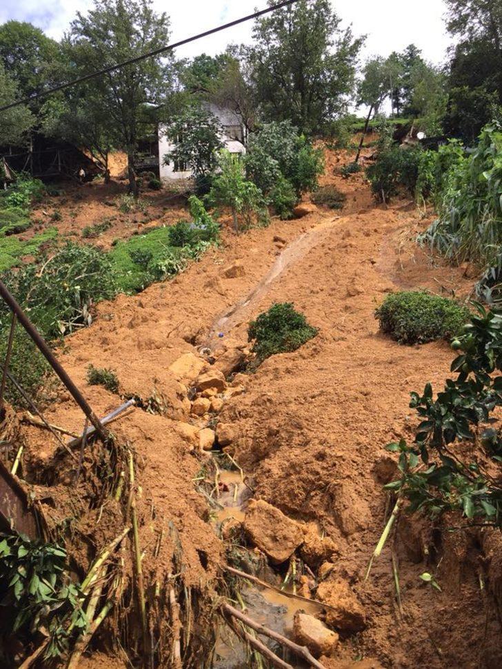 Selin vurduğu Rize'de 15 eve yıkım, 80 eve tahliye kararı
