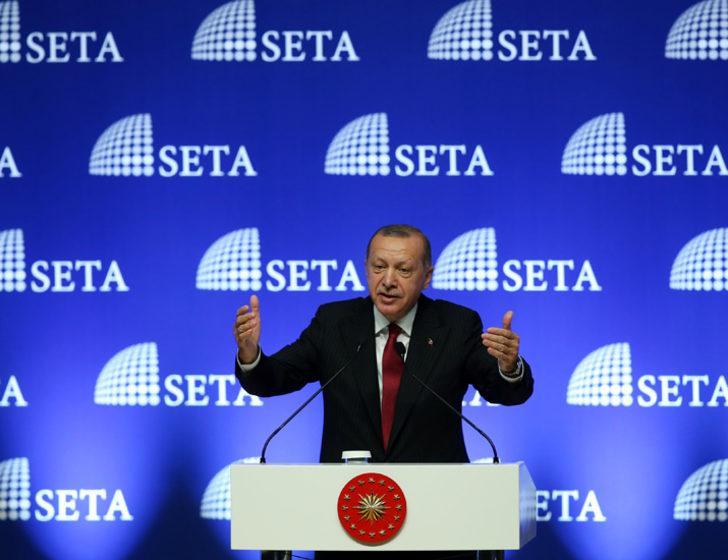 Erdoğan: Ekonomik tetikçilere en güzel cevap, işimize dört elle sarılmak olacaktır