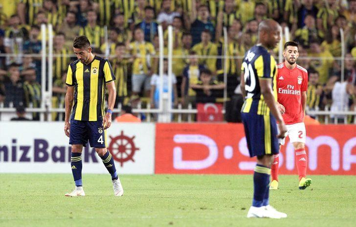 MAÇ ÖZETİ | Fenerbahçe 1 - 1 Benfica (Şampiyonlar Ligi 3. Ön Eleme Turu)