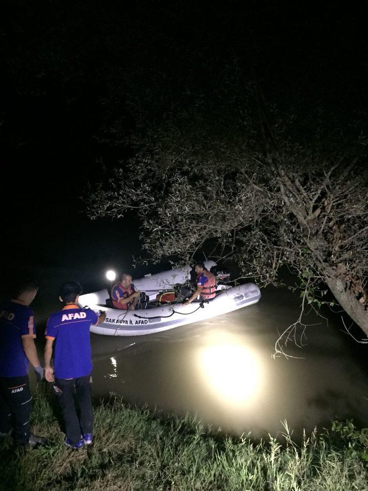 Balık tutarken nehre düşüp kayboldu