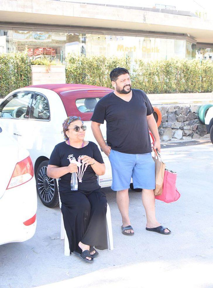 İhanet ve haciz iddiasıyla gündeme gelen Kibariye kocası Ali Küçükbalçık'la tatilde