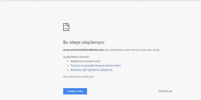 Türk hacker grubu Aslan Neferler Tim American Federal Bankası'nı hackledi